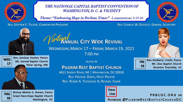 2021 NCBC City Wide Revival for   WEBSIT