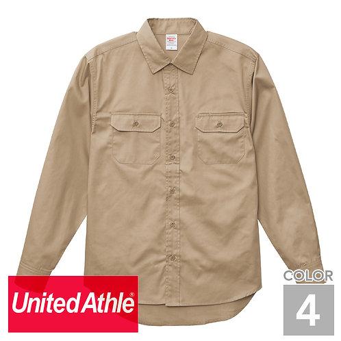 1773-01|T/Cワークロングスリーブシャツ|4色