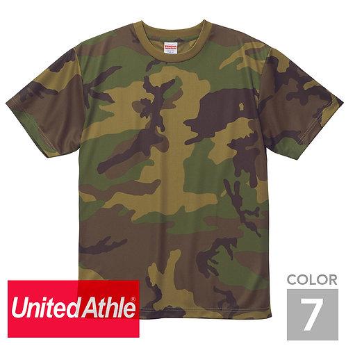 5906-01|4.1オンス ドライ アスレチック カモフラージュTシャツ|7色