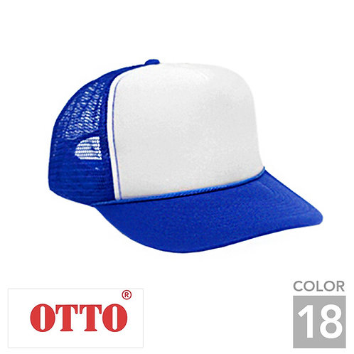 H0468|オットーキャップツートンメッシュキャップ|18色