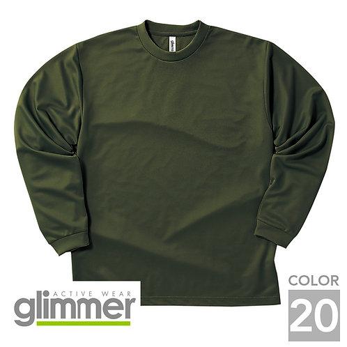 304-ALT|4.4オンスドライロングスリーブTシャツ|20色