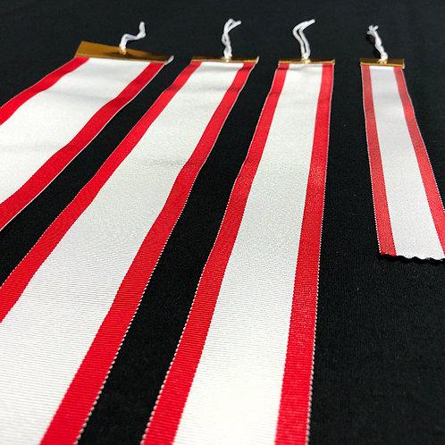 紅白ペナント/3.5cm巾