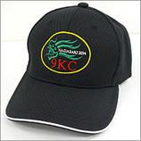 帽子+刺繍ワッペン