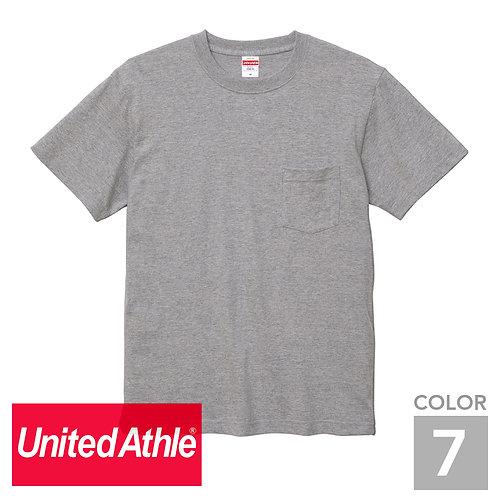 5006-01 5.6オンス ハイクオリティーTシャツ(ポケット付) 7色