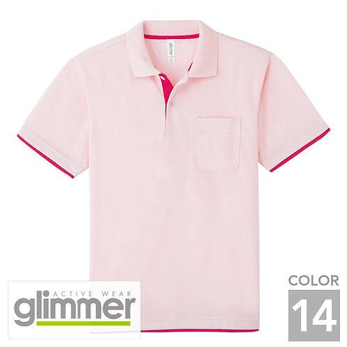 339-AYP 4.4オンスドライレイヤードポロシャツ 14色
