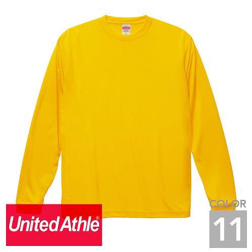 5089-01|4.7オンス ドライシルキータッチ ロングスリーブTシャツ|11色