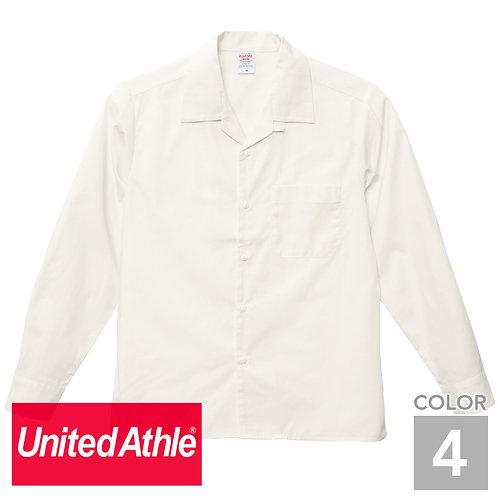 1760-01|T/Cオープンカラー ロングスリーブシャツ|4色