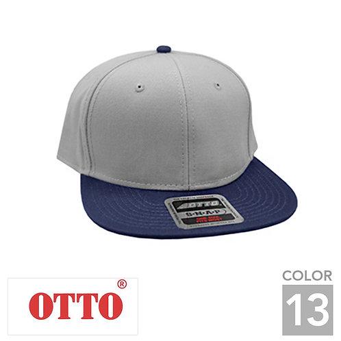 H1038|オットーキャップコットンフラットバイザーキャップ|13色