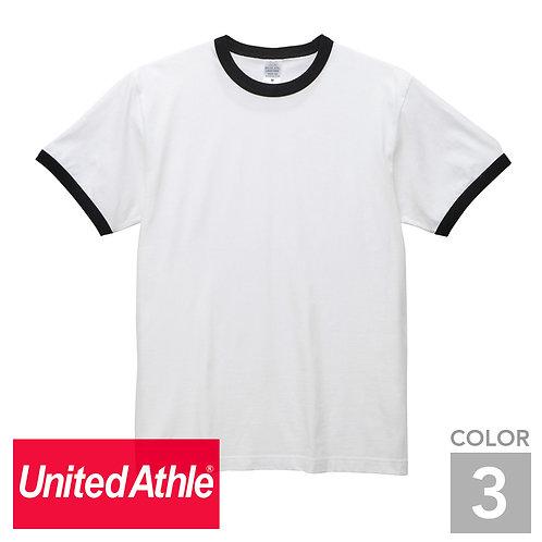 5030-01|5.6オンス リンガーTシャツ|3色