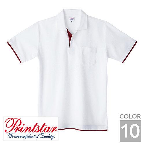 195-BYP|5.8オンスベーシックレイヤードポロシャツ|10色