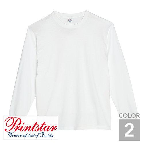 110-CLL|5.6オンスヘビーウェイトLS-Tシャツ(+リブ)|2色