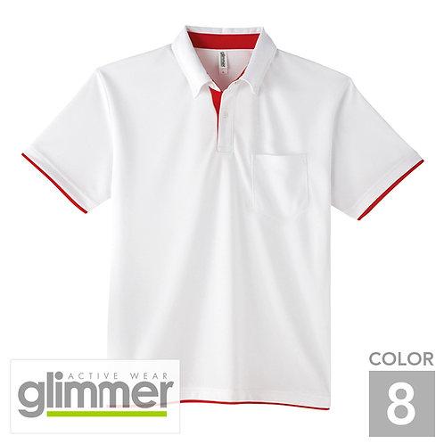 315-AYB|4.4オンスドライレイヤードボタンダウンポロシャツ|8色