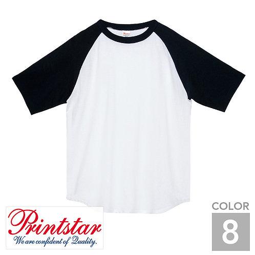 106-CRT|5.6オンスヘビーウェイトラグランTシャツ|8色