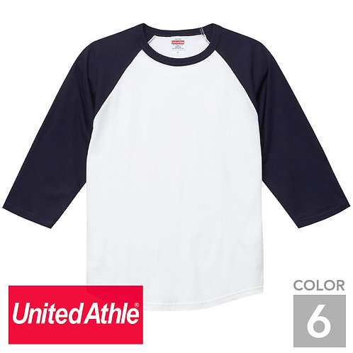 5045-01|5.6オンス ラグラン 3/4スリーブTシャツ|6色