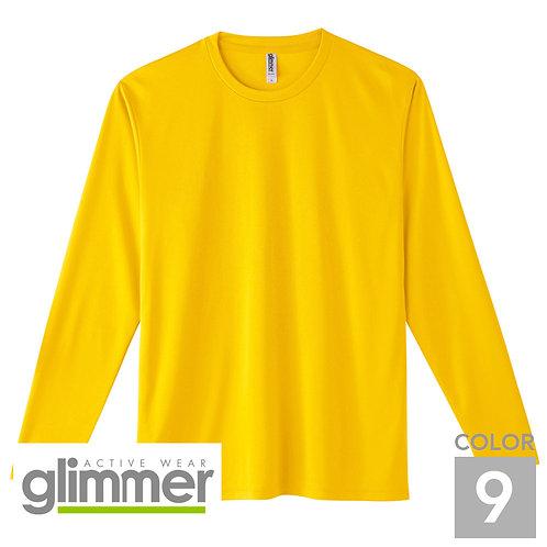 352-AIL|3.5オンスインターロックドライ長袖Tシャツ|9色