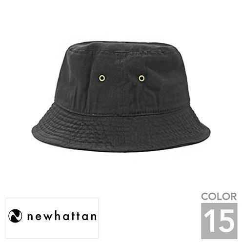 H1500|ニューハッタンコットンバケットハット|15色