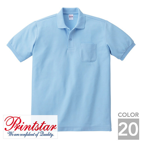100-VP|5.8オンス T/Cポロシャツ|20色