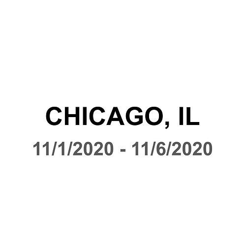 Chicago, IL 11/1 - 11/6