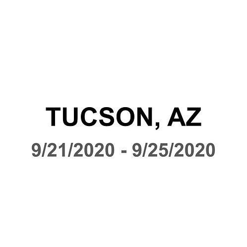 Tucson, AZ 9/21 - 9/25