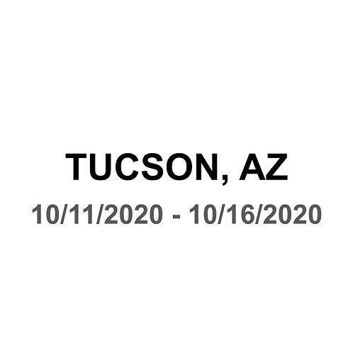 Tucson, AZ 10/11 - 10/16