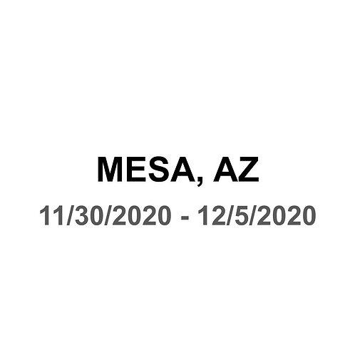 Mesa, AZ - 11/30 - 12/5