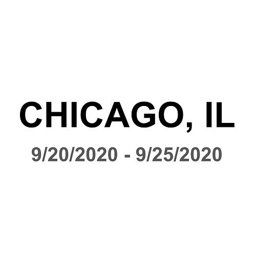 Chicago, IL 9/20 - 9/25