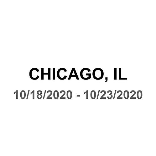 Chicago, IL 10/18 - 10/23