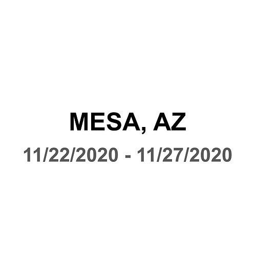 Mesa, AZ - 11/22 - 11/27