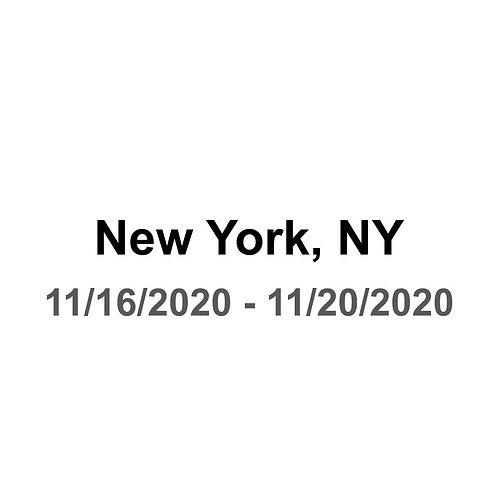 New York City 11/16 - 11/20