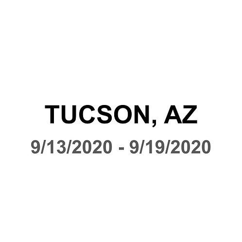 Tucson, AZ 9/13 - 9/19