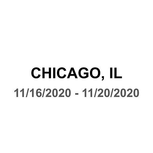 Chicago, IL 11/16 - 11/20