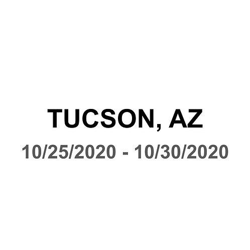 Tucson, AZ 10/25 - 10/30