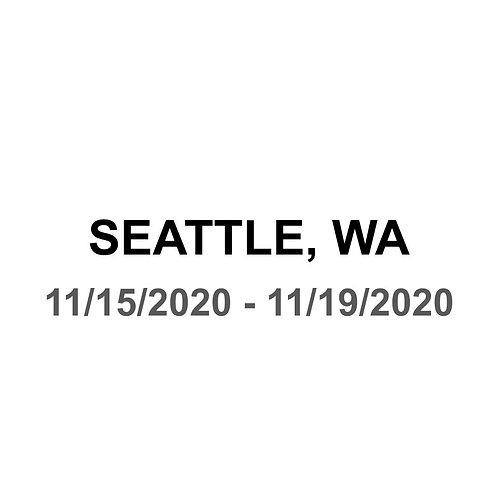 Seattle 11/15 - 11/19