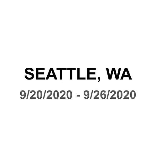 Seattle 9/20 - 9/26