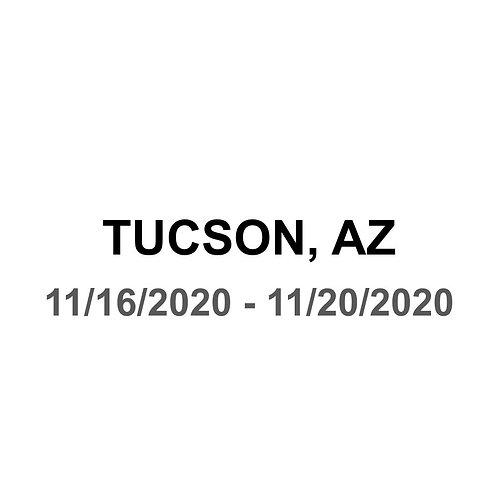 Tucson, AZ 11/16 - 11/20