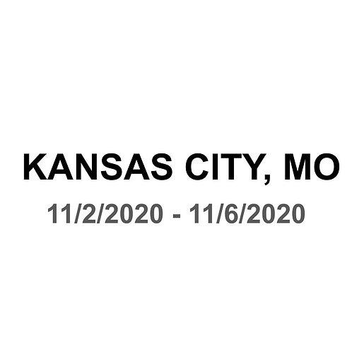 Kansas City, MO 11/2 - 11/6