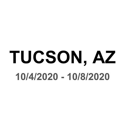 Tucson, AZ 10/4 - 10/8
