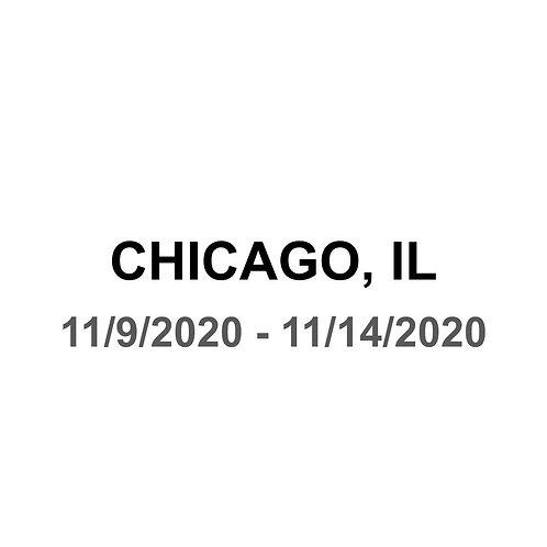 Chicago, IL 11/9 - 11/14