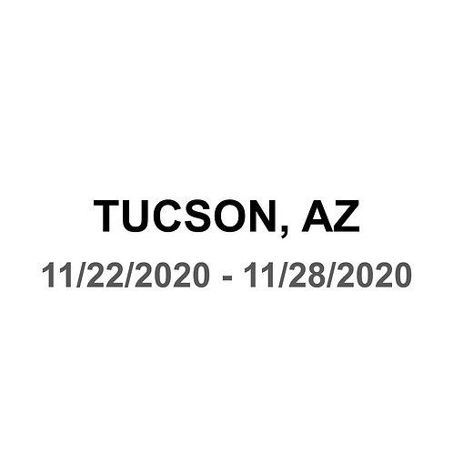 Tucson, AZ 11/22 - 11/28