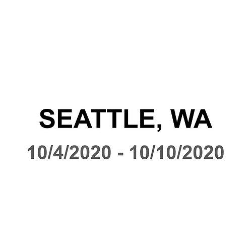 Seattle 10/4 - 10/10