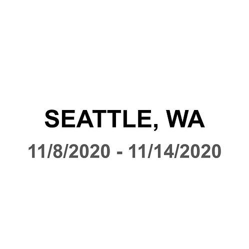 Seattle 11/8 - 11/14