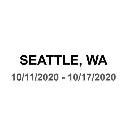 Seattle 10/11 - 10/17