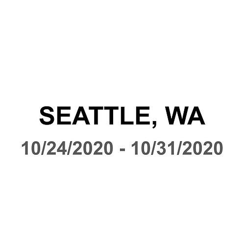 Seattle 10/24 - 10/31