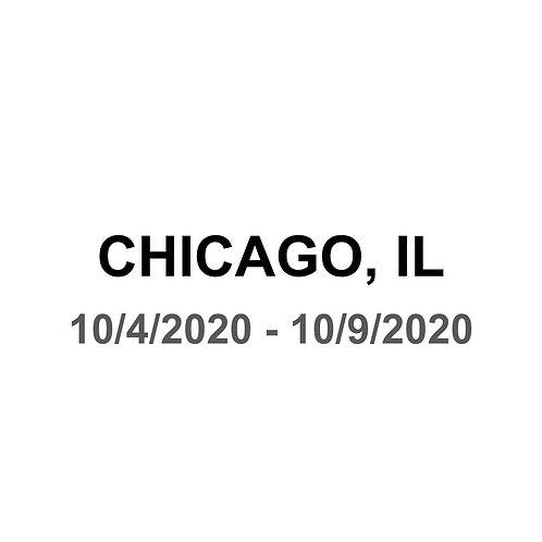 Chicago, IL 10/4 - 10/9