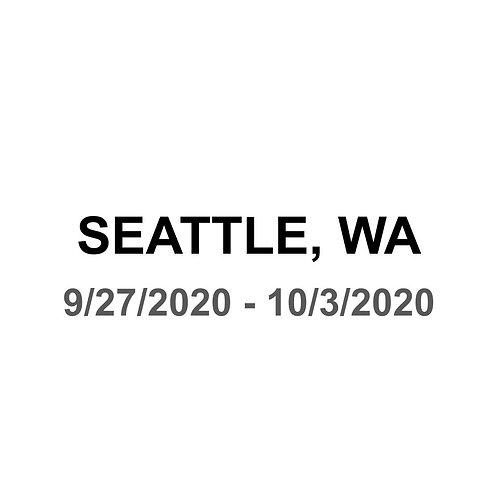 Seattle 9/27 - 10/3