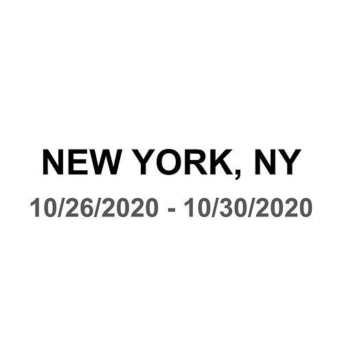 New York City 10/26 - 10/30