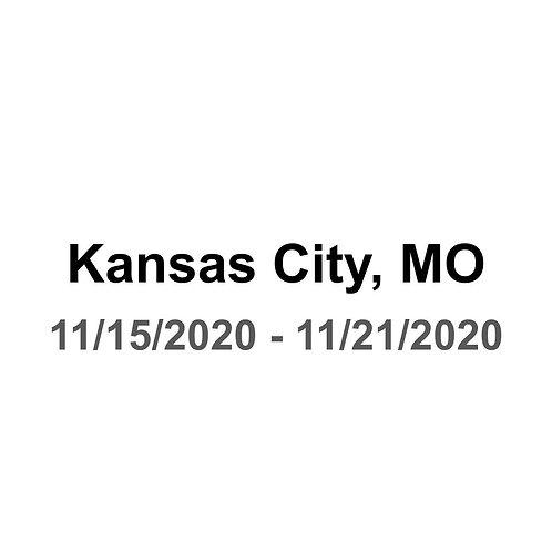 Kansas City, MO 11/15 - 11/21