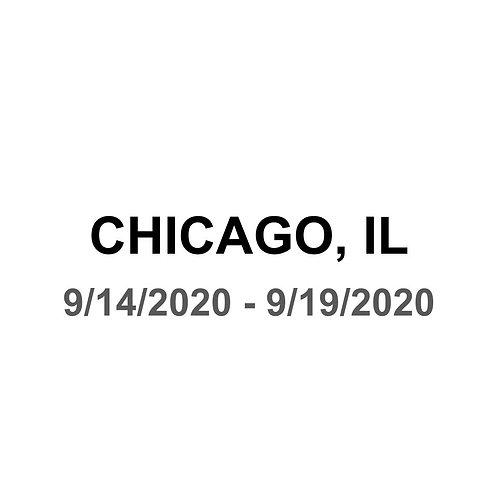Chicago, Il 9/14 - 9/19