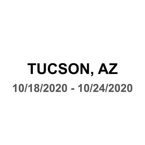 Tucson, AZ 10/18 - 10/24