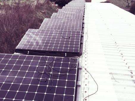 Sunpower pv system rebuilt.